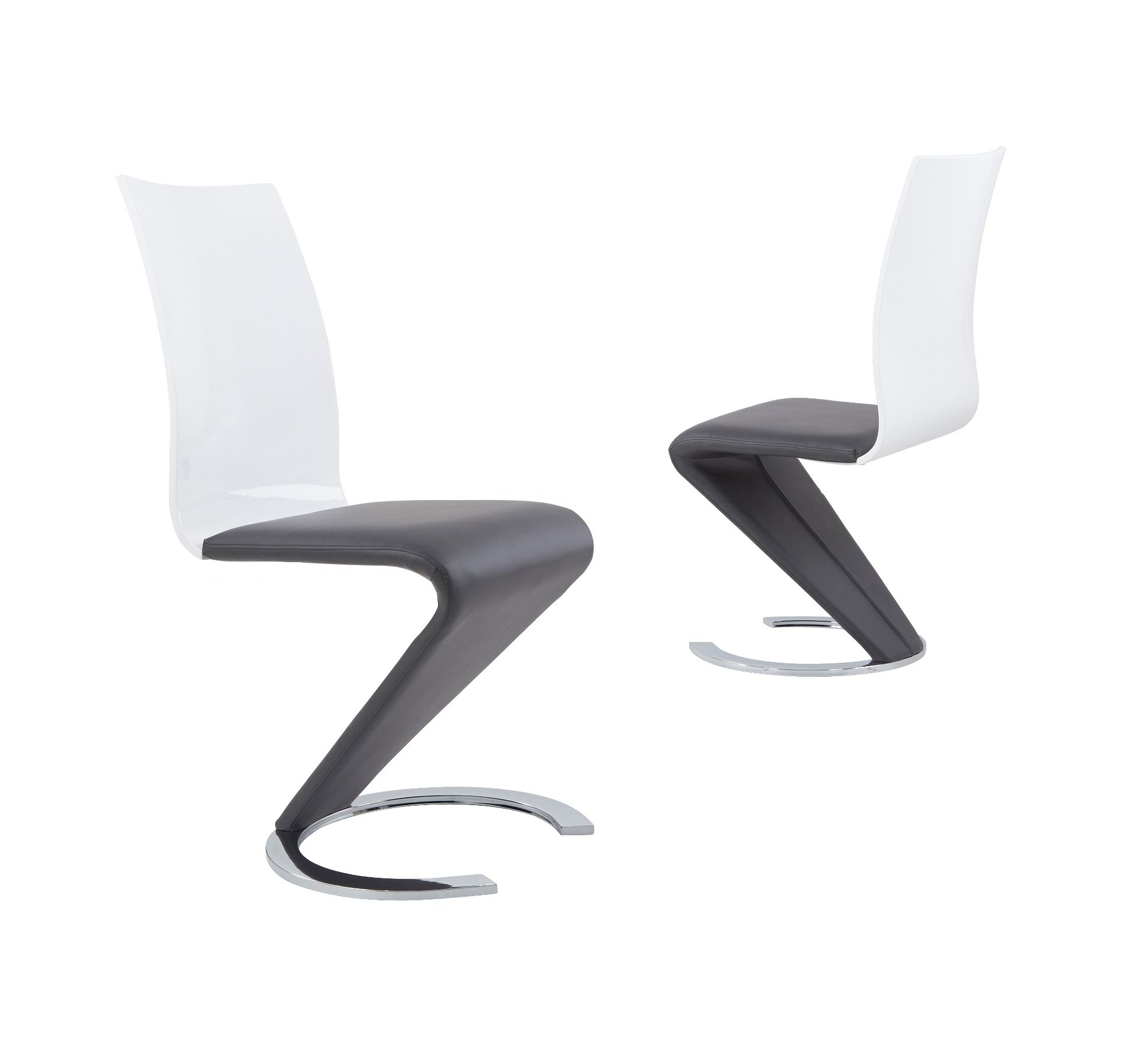 Groovy K2 Grey White Small Or Large Extending Table Swish Chairs Dailytribune Chair Design For Home Dailytribuneorg