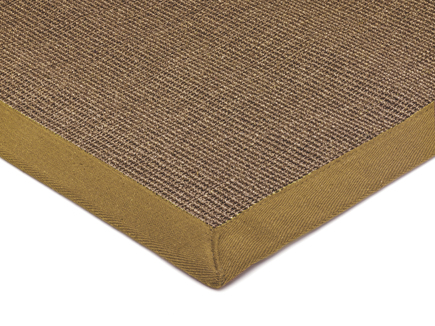 Sisal With Cotton Taupe Border Rug